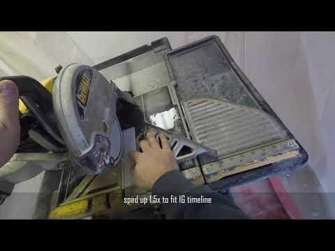 Cutting glass tile- alternate technique