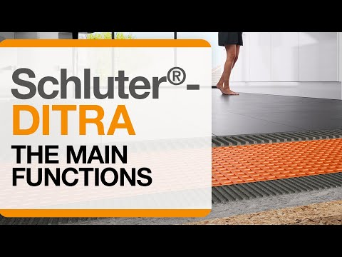 Schluter®-DITRA Installation: Four Essential Functions