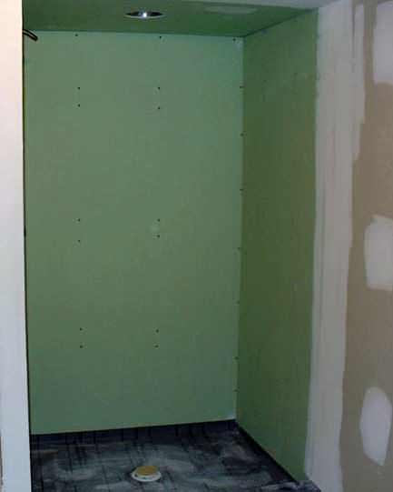 Drywall showers and other bad ideas what not to do - Tiling a bathroom wall on drywall ...