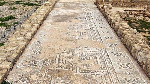 ancient tile floor