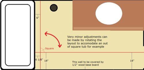 diagram of rotating lines