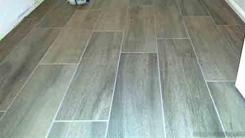 random wood look tile pattern - More Tips For Installing Wood Look Tile Flooring DIYTileGuy