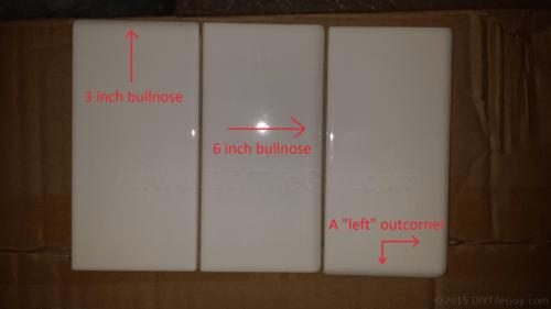 subway tile bullnose trim