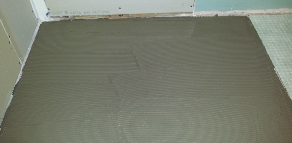 Thin Set Trowel : The trick for getting better thinset coverage diytileguy