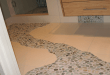 Pebble Tile Flooring Path