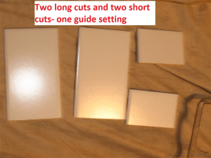 4 cut ceramic subway tiles