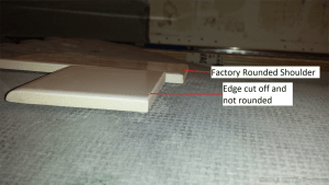 cut edge vs factory edge