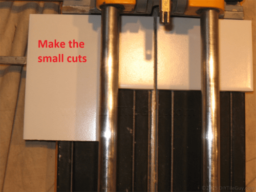 ceramic subway tile cuts