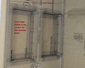 4 inch mesh tape