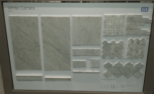carrara tile mosaic shapes