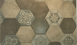 encaustic hex tile