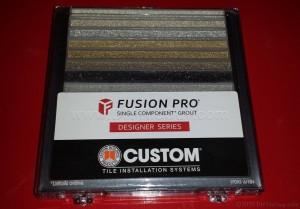 Fusion Pro tile grout