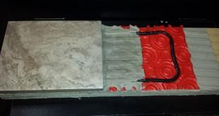 heated tile floor underlayment