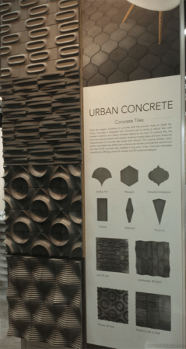 Urban Concrete by Eleganza 3D tile