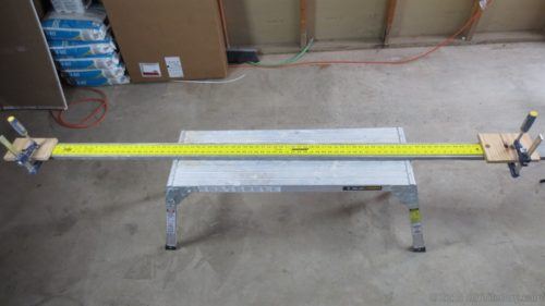 yellow six foot ruler