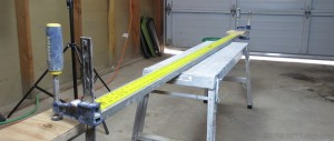 six foot flat ruler