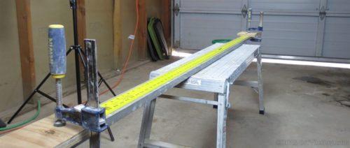 six foot flat ruler