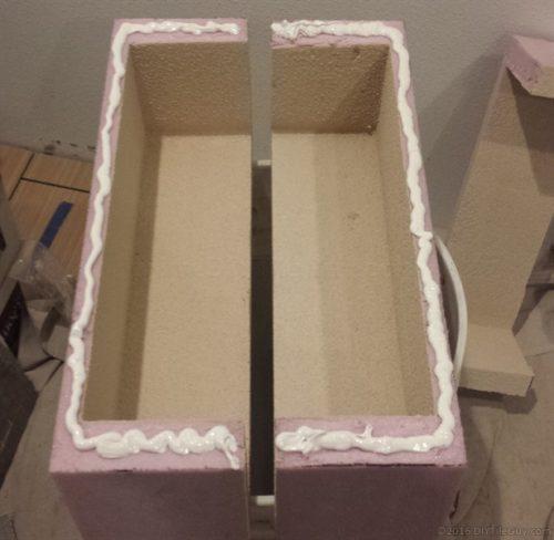 Customizing foam niche