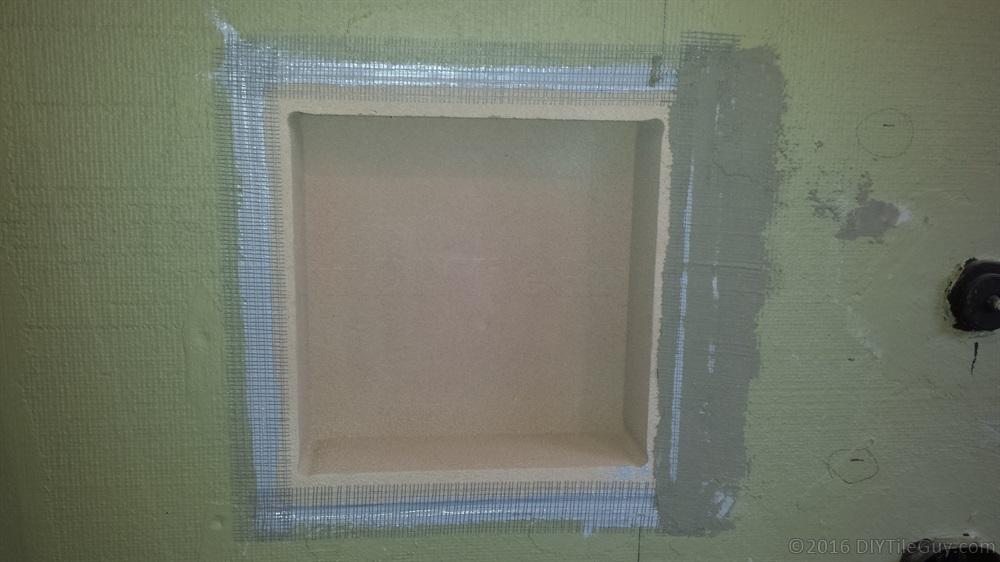 How To Build A Recessed Shampoo Shelf Diytileguy
