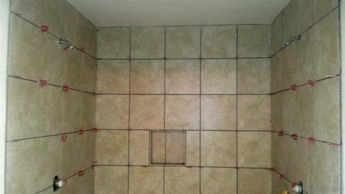 30cm shower niche