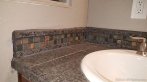 grouted tile edge