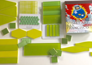 Modwalls tile Pantone Greenery