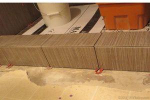 mitered tile corner