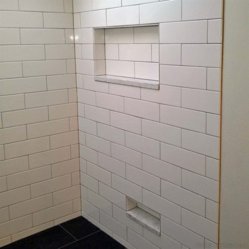 Building A Completely Custom Shower Niche From Scratch