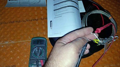 electric floor heat ohm test
