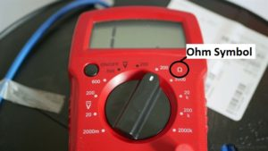 ohm meter for floor heat