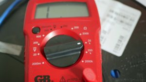 heated tile floor ohm meter
