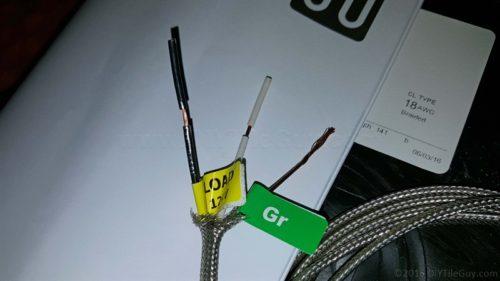 electric floor heat wires