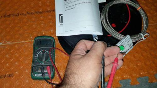 testing radiant heat ground