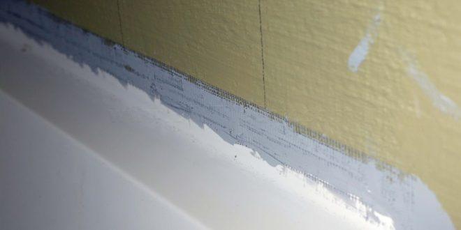 3 Methods For Sealing Or Waterproofing A Tub Flange For Tile Diytileguy