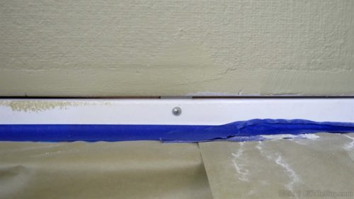 gap between cement board and tub flange