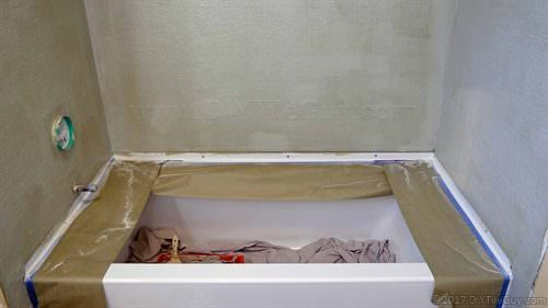 hydroban shower waterproofing system