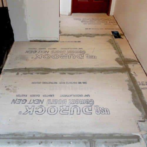 Cement Board Installation On Floors Avoid These 5 Mistakes Diytileguy