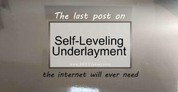 Self-leveling Underlayment