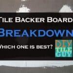 tile backer board comparison