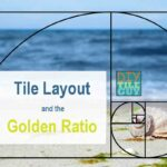tile layout using golden ratio